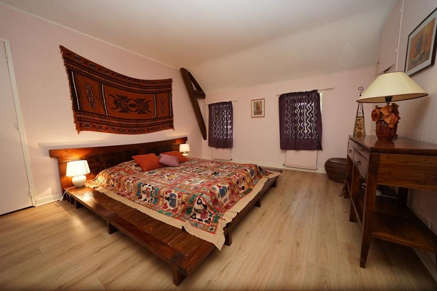 chambre coloniale, gîte la palombiere