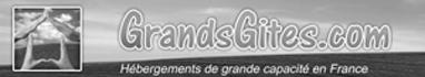 Logo Grandsgîtes.com